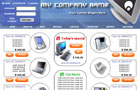 ecommerce web template 4